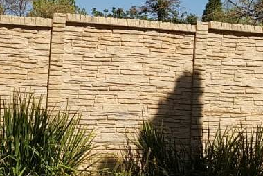 Pre cast walling Stonefence