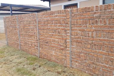 pre cast walling clinker